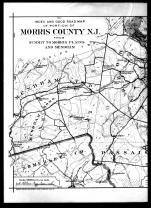 Index Map - Left, Morris County 1910